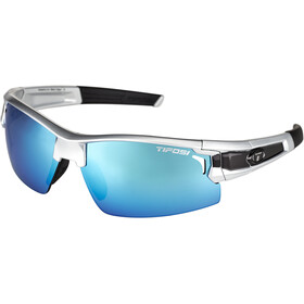 Tifosi Escalate FH Lunettes Homme, silver/black - clarion blue/ac red/clear